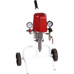 Pompa k20 misto aria pneumatica a pistone carrellata