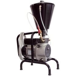 Pompa k300 airless elettrica 220 v a membrana carrellata fissa
