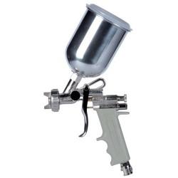 Aerografo convenzionale manuale superiore a bassa pressione e70 ugello ø 1,0mm 500cc serbatoio alluminio