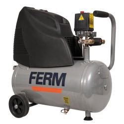 Compressore 1100w 1,5 hp - velocità 2850 giri/min - capacità serbatoio 24l - pressione 0-8 bar