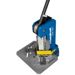 Scantonatrice manuale max taglio 3 mm