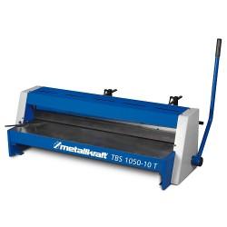 Cesoia manuale di precisione per metalli max larghezza 1050 mm